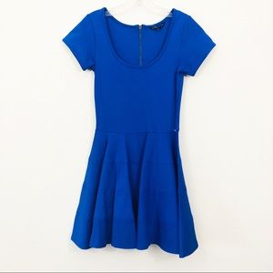 Felicity & Coco Brilliant Blue Skirt Ponte Dress
